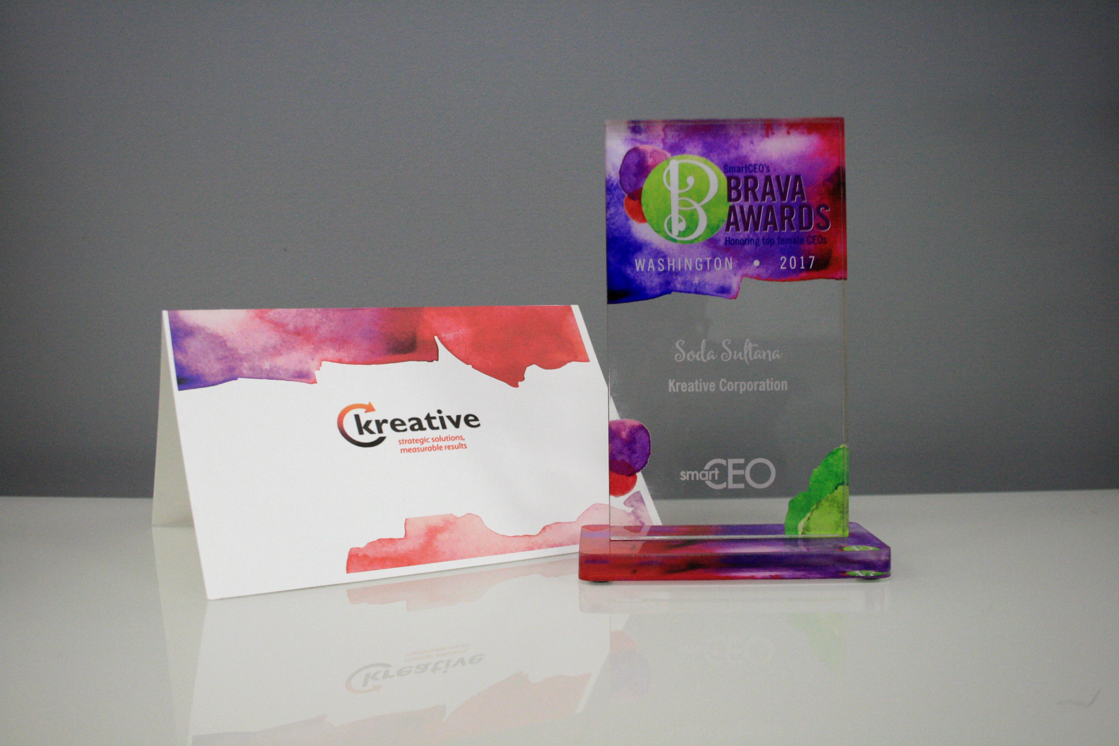 Smart CEO BRAVA Award