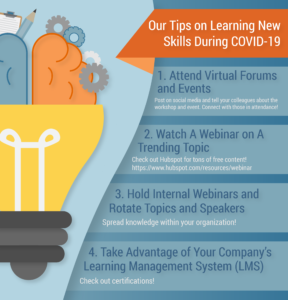 Our Tips on Learning New Skills During COVID-19