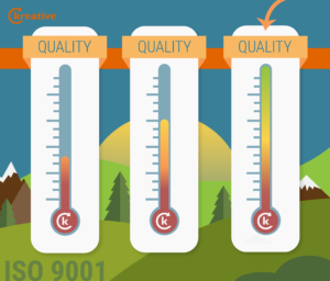 Raise your degree of quality this summer with ISO 9001!