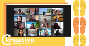 It's 5 o'clock Somewhere! Kreative Happy Hour and Mid-Year Check-In