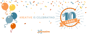 Kreative Commemorates 10 Years of Business – The Future is Bright
