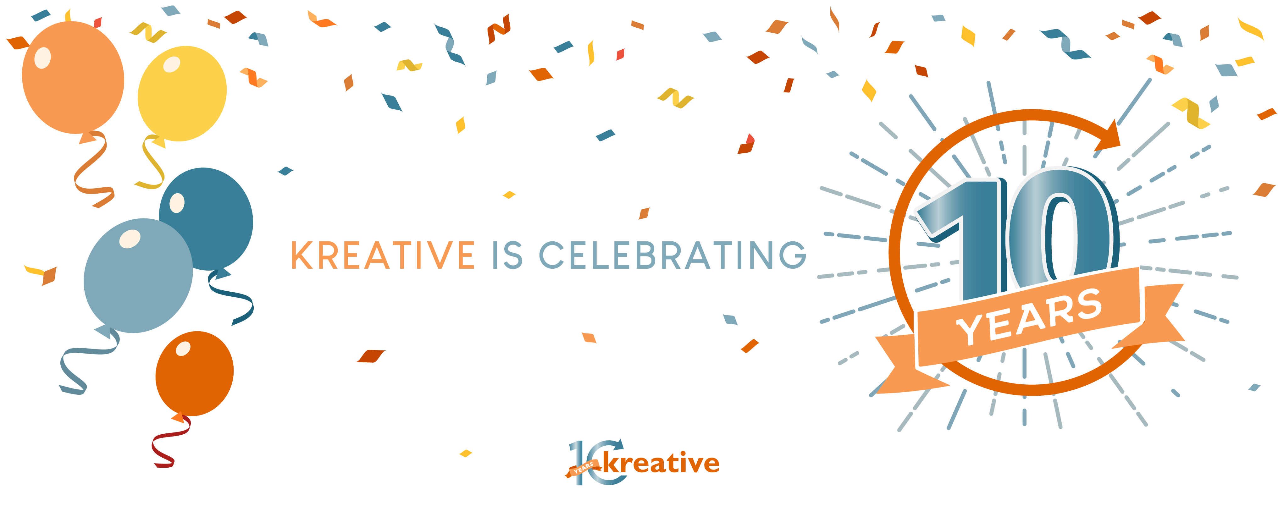 Kreative Commemorates 10 Years of Business – Kreative Expands